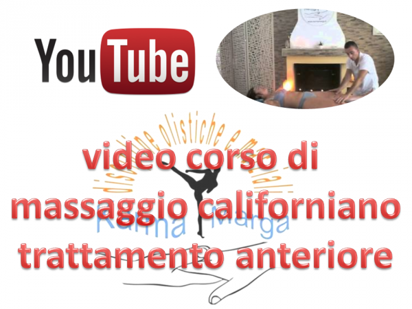 YouTube - video corso di massaggio californiano